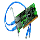 Placa de rede Intel Pro/1000 Dual Port Server 10/100/1000 - PWLA8429MT: