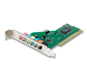 Placa de som PCI 7.1 Encore ENM232-8VIA